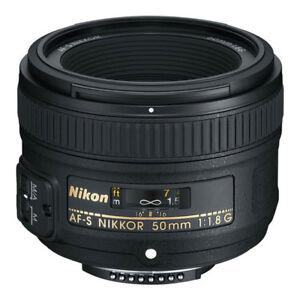 NEW-Nikon-50mm-f-1-8G-AF-S-NIKKOR-Lens-for-Nikon-DSLR-Cameras