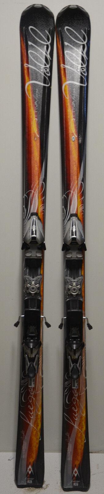 Parabel Ski gebraucht Frau Völkl Attiva Attiva Attiva Fuego - 168cm ed0c7a