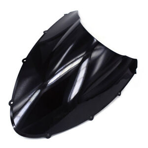 Black-Windshield-Windscreen-Screen-Protector-For-Ducati-848-1098-1198-R-S-New