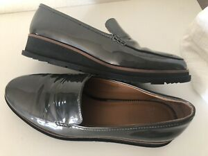 Franco-Sarto-Ayers-Wedge-Loafers-Shoes-Sz-9