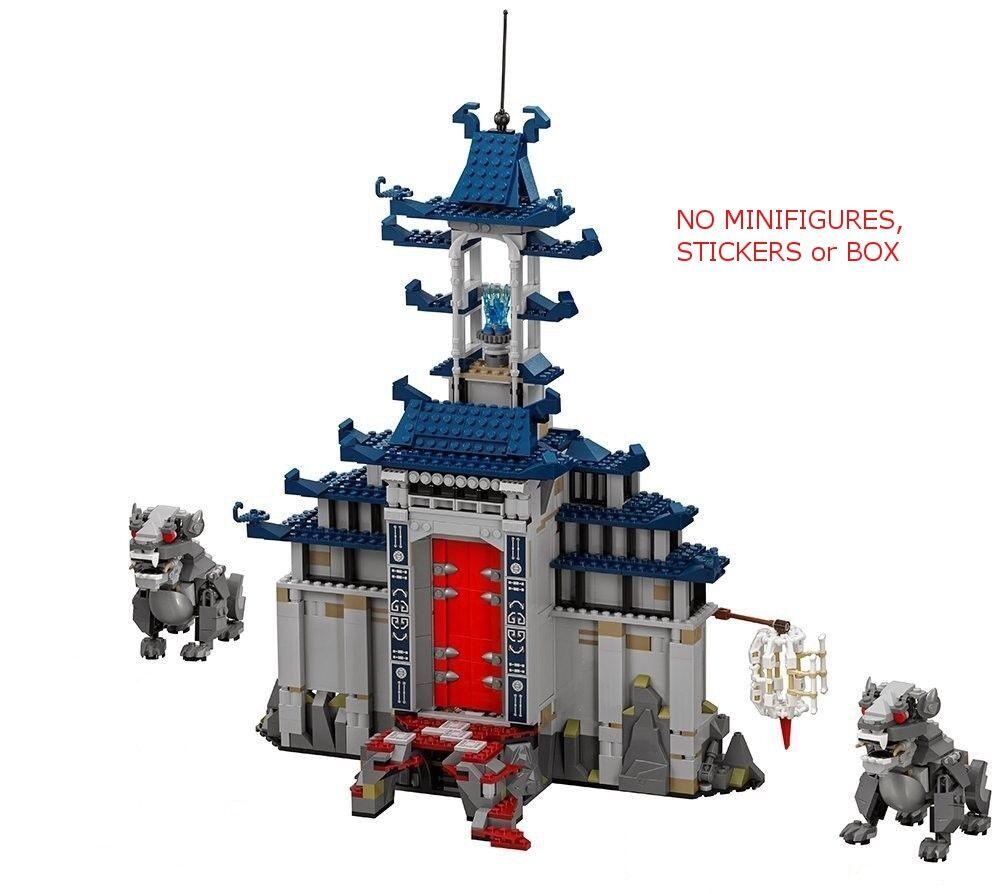 LEGO 70617 - Ninjago Movie Temple Ultimate Ultimate Weapon - NO MINI FIGS   BOX