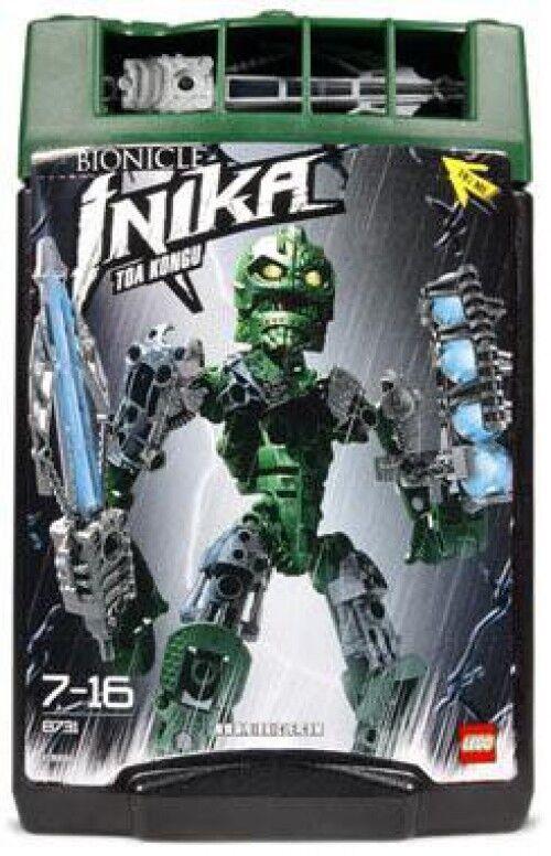 LEGO Bionicle Toa Inika Toa Kongu Set  8731