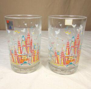 McDonalds Walt Disney World 25th Anniversary Remember The Magic Glasses