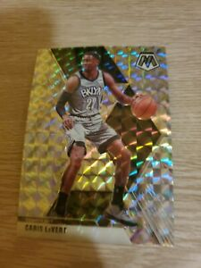 Caris-LeVert-2019-20-Panini-Mosaic-Reactive-Silver-Prizm-SP-51-Brooklyn-Nets-NBA