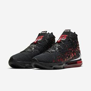 Nike LeBron 17 Black/Red Bred Infrared