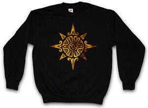 Indians Religion Sweatshirt Culture Aztec Power Sign Pullover Indian Mayans 6qO6xHzw
