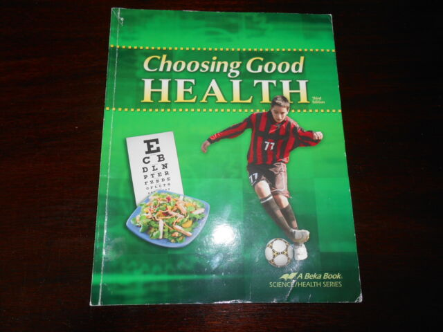 A Beka Choosing Good Health homeschooling 6th grade student textbook