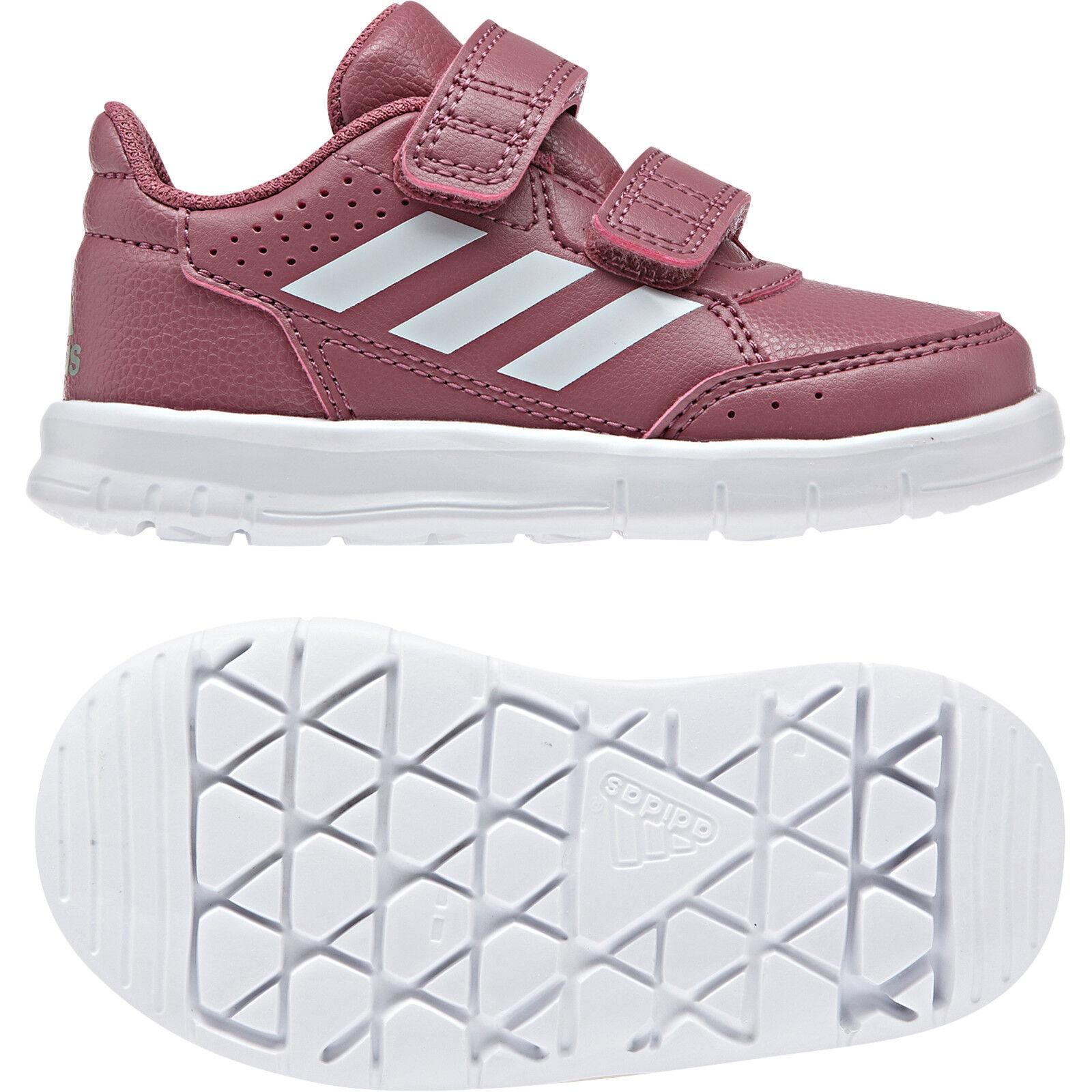 Adidas Neo Kids Cipő Csecsemők Lányok Alkalmi Altasport CF Teniszütők Futás B37976