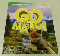 Houghton Mifflin Harcourt Go Math Common Core Grade 1 Chapter 6 Teacher Edition
