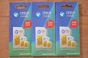 Tesco Mobile Ireland 3G Sim Card. Unlimited calls* 10GB data. 15 credit - Tuam, Ireland - Tesco Mobile Ireland 3G Sim Card. Unlimited calls* 10GB data. 15 credit - Tuam, Ireland