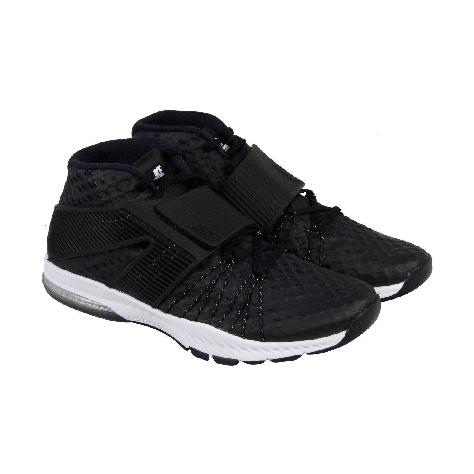Nike zoom treno tornada Uomo nero maglie atletico merletto formazione scarpe