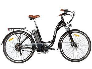 """Vélo électrique de ville SHIMANO ROUES 28"""" ALUMINIUM BATTERIE ION-LITHIUM 16Ah"""