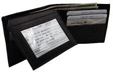Mens Wallet ZARA Faux Leather Credit Debit Card Notes Cash Wallets Black £15.99