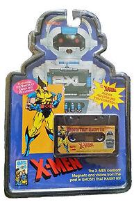 NOS RARE TIGER ELECTRONIC 2XL TALKING ROBOT CASSETTE TAPE X-MEN WOLVERINE SEALED
