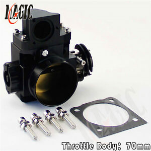Throttle Body for Mitsubishi Lancer Evo 7 8 9 Aftermarket Uprated 70mm 4G63T