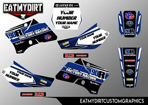 Yamaha Tdm 850 2001 Complete Replacement Decals Stickers