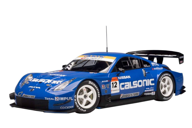 AutoArt Nissan Fairlady Z Z33 2005 SUPER GT  12 Calsonic 1 18 Voiture Modèle