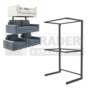 Image Is Loading 1x Double Sofa Display Stand Mobile Rack