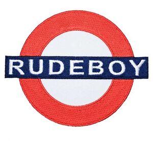Rudeboy-patch-gestickter-Aufnaeher