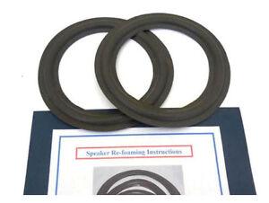 New 8 Quot Inch Woofer Speaker Foam Edge Parts Repair Kit