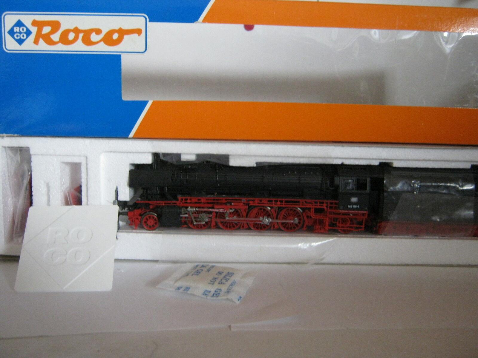 Roco ho 43244 vapor-locomotora btrnr 042 168-5 DB (rg bb 111s1)