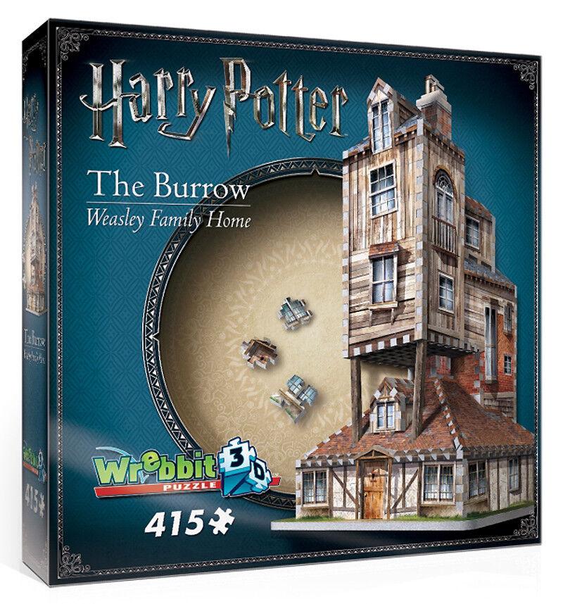 3D Puzzle - Harry Potter - Fuchsbau - The Burrow 415 Teile Rowling Wrebbit