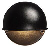Malibu 8301-9400-01 7-watt Low-voltage Round Metal Surface Light, Black , New, F