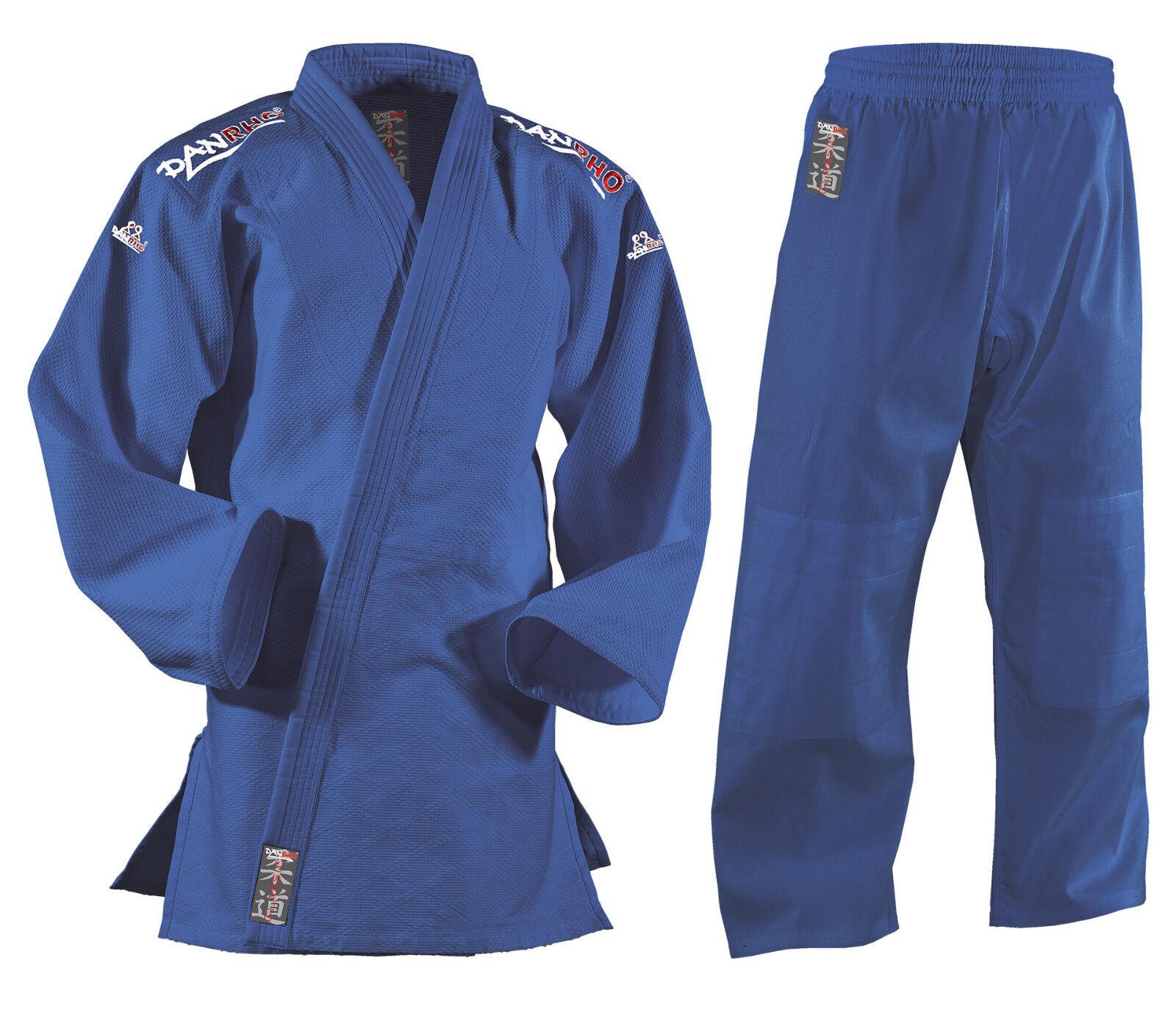 DANRHO ® Judoanzug Classic blau  NEU NEU NEU c3d49c