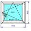 miniature 20 - Finestre in PVC con 2 lastre di vetro termico larghezza: 850 mm scelta l'altezza