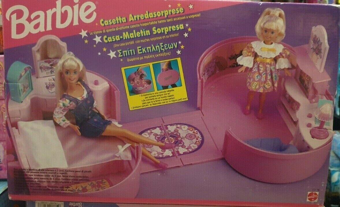 Barbie Mattel Casetta Arreda Sorprese - Pull-Pop & Play House 95'