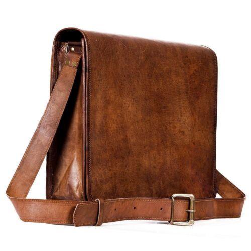 New Well Made Leather Messenger Bag Genuine Vintage Leather Laptop Satchel Bag