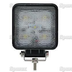 Sparex aluminio de alta calidad 12//24V Cuadrado trabajo del LED Lámpara Luz 1150 Lumen