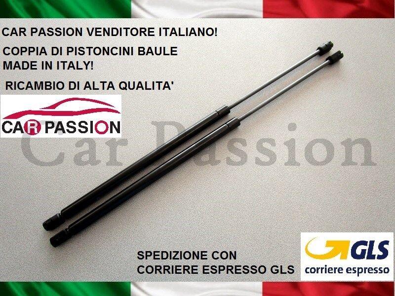 """COPPIA MOLLE A GAS PISTONCINI COFANO POSTERIORE OPEL CORSA /""""C/"""" 3//5 PORTE 00/>2006"""