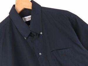 KU565 YSL YVES SAINT LAURENT SHIRT TOP BLACK ORIGINAL PREMIUM size 39/15,5