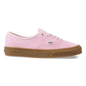 Vans-Authentic-Ice-Cream-Glitter-Pink-Women-039-s-Shoes-9-5