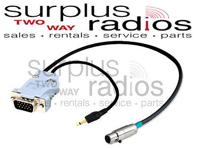 Black Box and HYT Radios Rugged Radios CJ-MOT-2 2-Pin Handheld Radio Jumper Cable for Motorola