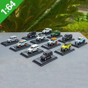 1-64-Mercedes-Benz-G63-6X6-AMG-Benz-G500-4X4-G-Class-Diecast-Model-CarCollection