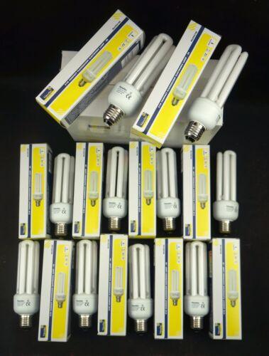 Newlec 21 W CFL E27 4000K économie d/'énergie nominale livraison + TVA Incluse Multibuy
