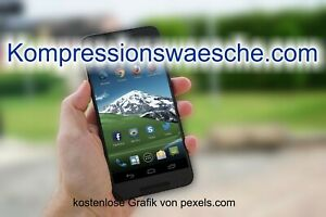 Top-Level. com Domain -> Kompressionswaesche.com <- Keyworddomain