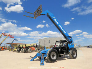 2014-Genie-GTH1056-4WD-56-039-10K-Telescopic-Reach-Forklift-Telehandler-bidadoo