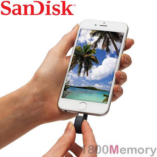 SanDisk iXpand Flash Drive Lightning USB iExpand for Apple iPhone iPad HD Photo