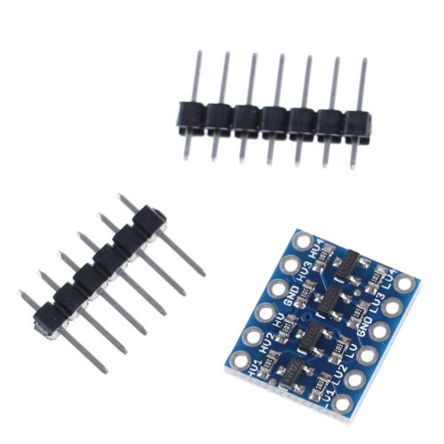 5Sets 4 Channel Bi-Directional Logic Level Shifter Converter 3.3V-5VForArduinoH2