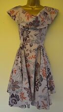 Vivienne Westwood Red Label 8 Stunning Japanese Floral Drape Wedding Races Dress