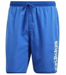New-Mens-Adidas-Swim-Beach-Swim-Swimming-Board-Shorts-Summer-Holidays-Blue