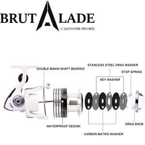 BRUTALADE-C-4000-Big-Brand-Quality-Superior-Value-Salt-Spin-Fishing-Reel