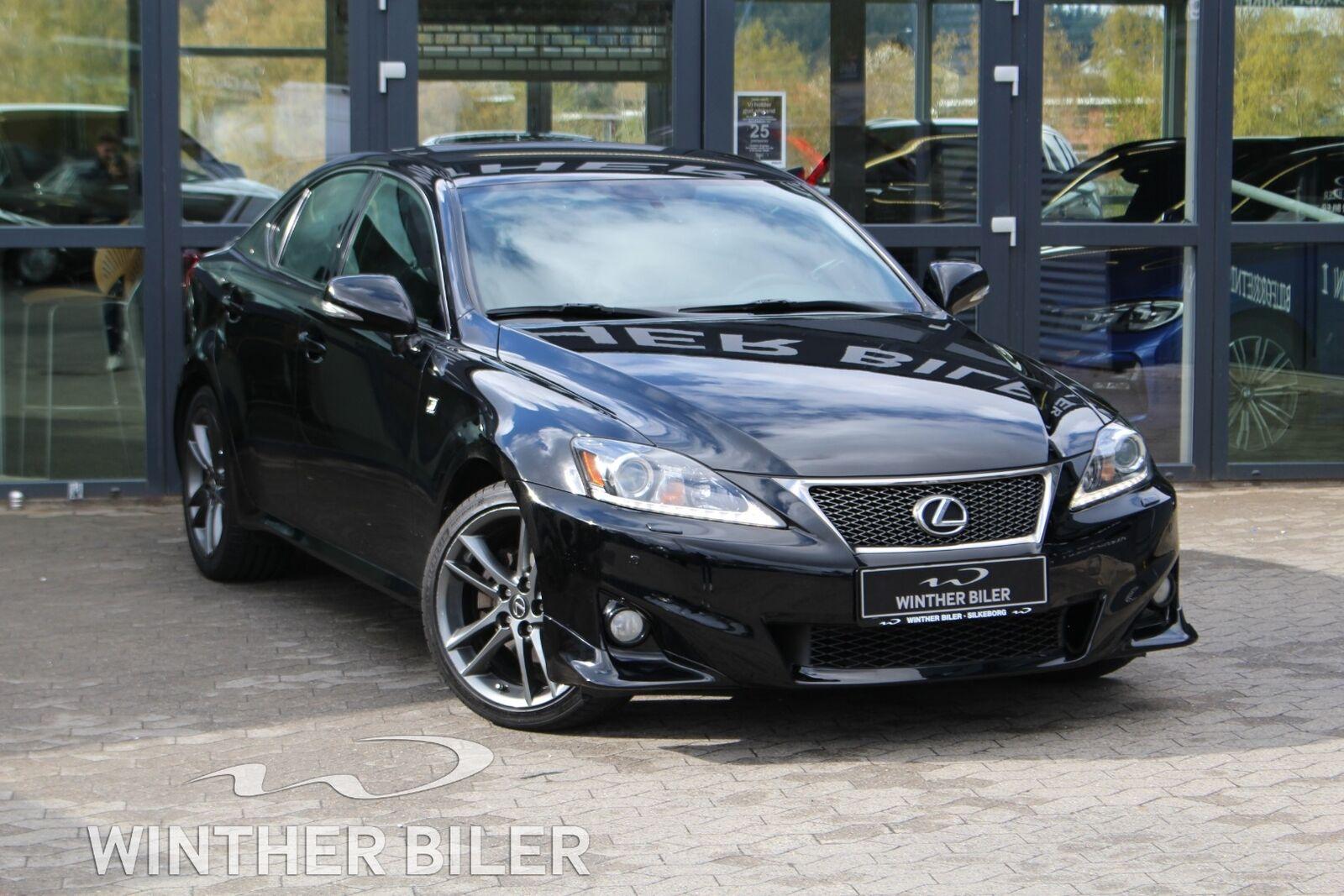 Lexus IS200d 2,2 F Sport 4d - 139.900 kr.