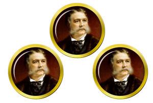President-Chester-Arthur-Marqueurs-de-Balles-de-Golf
