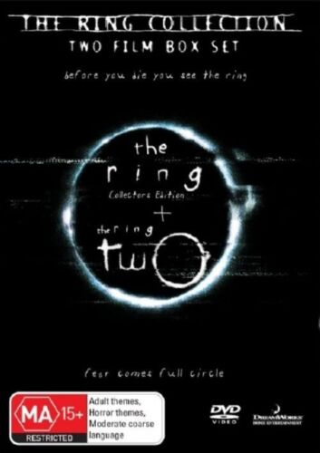 1 of 1 - The Ring  / Ring Two (DVD, 2007, 2-Disc Set) -- Free Postage --