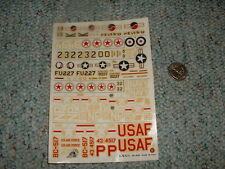 Esci decals 1/7 Pakistan Korea USA warplanes  H27