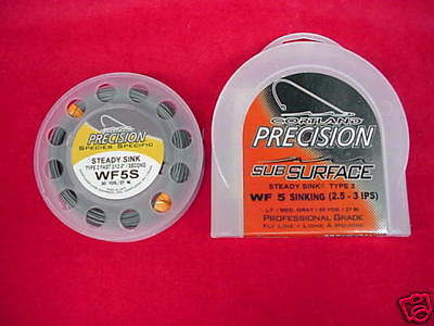 Cortland  Fly Line Precision Steady Sink Type 3 WF5S GREAT  wholesale